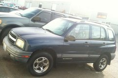 2000 Tracker 4x4 4dr 4cyl, AT, AC, runs & drives awesome in Fort Lewis, Washington