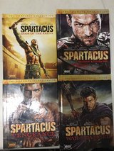 Spartacus Blue-Ray all 4 seasons in Okinawa, Japan