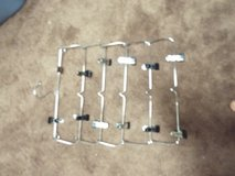 Group of 5 Foldable 6 Tier Skirt Pants Cloth Hanger Metal in The Woodlands, Texas