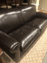 Bonded leather couch in Lockport, Illinois