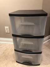 3-drawer plastic stack unit in Bolingbrook, Illinois