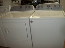 WHIRLPOOL GOLD WASHER & DRYER SET; WHITE in Fort Bragg, North Carolina