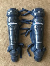 Wilson catchers gear shin guards in Aurora, Illinois