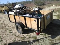 "trailer 8' x 5' x 18"" in 29 Palms, California"