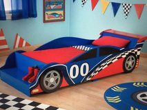 Race Car Bed & Nightstand in Camp Lejeune, North Carolina
