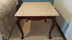 Marble Top End Table in Lockport, Illinois
