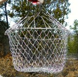 Collapsable Metal Mesh Frying Basket in Alamogordo, New Mexico