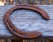 Vintage, Rusty HORSESHOE in Alamogordo, New Mexico
