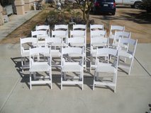 $$  Party Rental Chairs  $$ in Yucca Valley, California