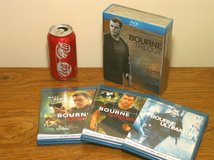 Bourne Trilogy Bluray Boxed Set in Plainfield, Illinois