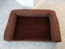 Plush Brown Pet Bed Sofa - Medium in Oswego, Illinois
