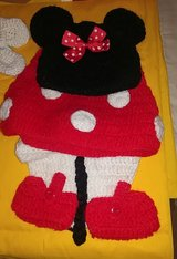 homemade crochet Minnie mouse outfit in Leesville, Louisiana