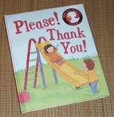 """Please Thank You """"Manners"""" Hard Cover Book w Fun Reward Stickers in Yorkville, Illinois"""