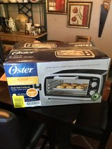 Oyster toaster oven never been opened in Conroe, Texas