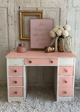 Desk - white and pink in Kingwood, Texas