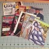 Misc Lot of Crochet magazines & patterns in Yucca Valley, California