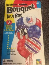 7 balloon set latex and foil w/curling ribbon in Yorkville, Illinois