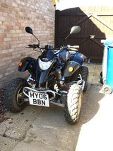 road legal quad bike in Lakenheath, UK