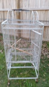 Large bird cage 4' tall on wheels in Warner Robins, Georgia