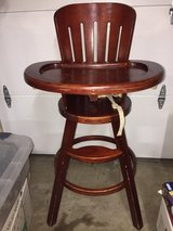 GRACO Wooden Highchair in Travis AFB, California