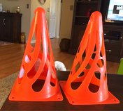 2 Collapsible Training Cones in Plainfield, Illinois