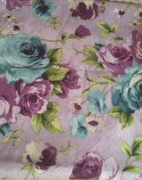 Purple and Blue Rose Home Decor Fabric 4 yds in 29 Palms, California