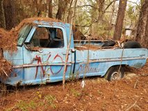 Old ford truck in Fort Polk, Louisiana