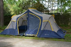 Large 10 person camping tent in Houston, Texas