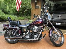 1996 Dyna Wide Glide in Fort Lewis, Washington