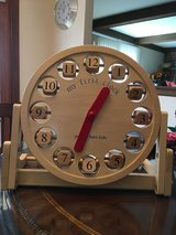 Pottery Barn Kids My First Clock Solid Wood in Plainfield, Illinois