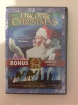 NEW Discover Christmas 2-Disc DVD & CD Set in Oswego, Illinois