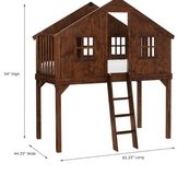 Pottery Barn Treehouse Loft Bed / Bunk Bed option in Naperville, Illinois