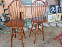 Two Bar Stools in Yucca Valley, California