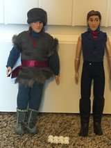 Frozen Barbie Dolls: Kristoff/Hans in Fort Lewis, Washington