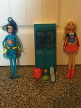 Supergirl Barbie and Interactive Locker in Fort Lewis, Washington