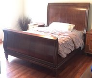 Queen Sleigh Bed in Bolingbrook, Illinois