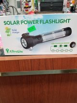 Solar powered flashlights in 29 Palms, California