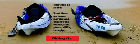 Kayak rental/sales in Okinawa, Japan