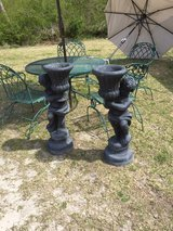 antique cement statue planters ! in Cherry Point, North Carolina