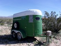 Vintage Horse Trailer in 29 Palms, California