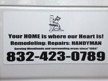 **HOME REPAIRS/HANDYMAN**Remodel  832-423-0789 in The Woodlands, Texas