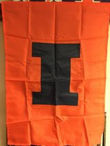 Illini Flag in Aurora, Illinois