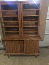 Hand made kitchen hutch in Fort Campbell, Kentucky