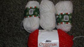 holiday yarn red and white in Alamogordo, New Mexico