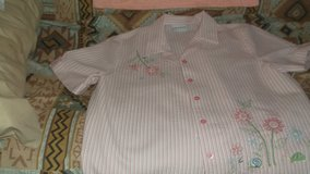 ALFRED DUNNER button front blouse SIZE 14 petite in Alamogordo, New Mexico