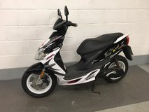 Yamaha jog 50cc 2010 New front and rear tyres Years mot New battery in Lakenheath, UK