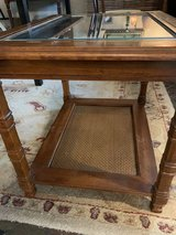 Vintage end table in Houston, Texas