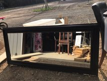 5.5 by 2.5 ft brown mirror in Leesville, Louisiana