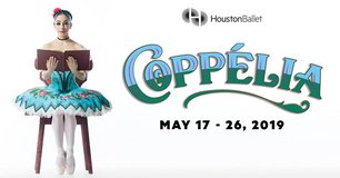 """(2/4) """"COPPELIA"""" Ballet 6th Row/Lowers/Center Seats - Sat, May 25 - Call Now! in Houston, Texas"""