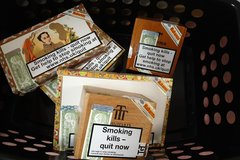 5 various cigar  boxes in Ramstein, Germany